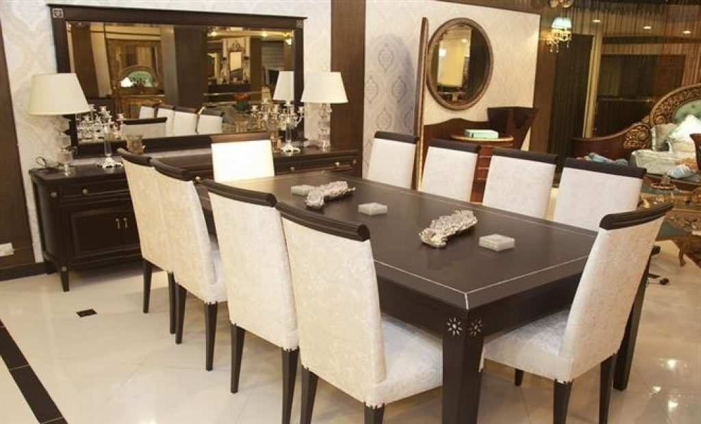 Dining Tables 8 Chairs Set Intended For Most Up To Date Dining Room Tables With 8 Chairs – Dining Table Furniture Design (View 7 of 20)