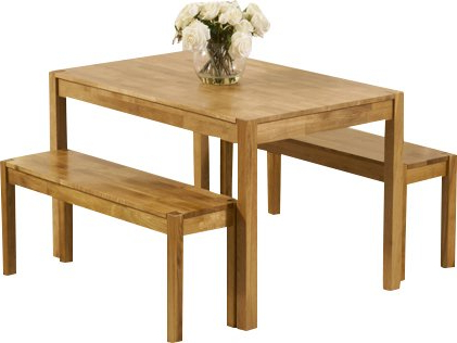 Dining Tables And 2 Benches For Newest August Grove Rory Dining Set With 2 Benches (View 5 of 20)