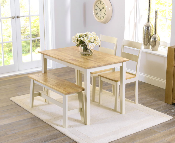 Dining Tables And 2 Benches Intended For Fashionable Wonderful Dining Table And Bench Set Dining Room Table Bench (View 8 of 20)