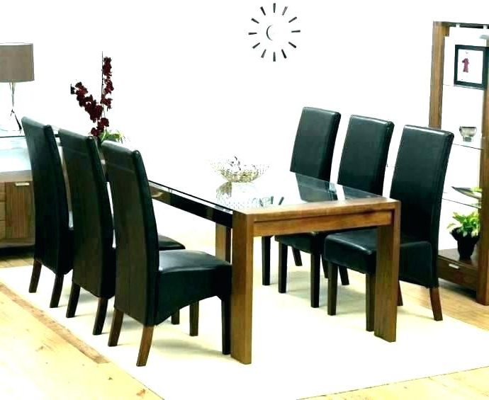Dining Tables And 6 Chairs For Well Known Round Dining Table For 6 – Ablepeople (View 4 of 20)