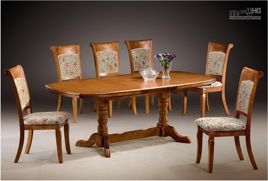Dining Tables And Chairs Sets Inside Most Up To Date Sensational Beautiful Dining Table Chairs Set Elegant Chairs Dining (View 6 of 20)