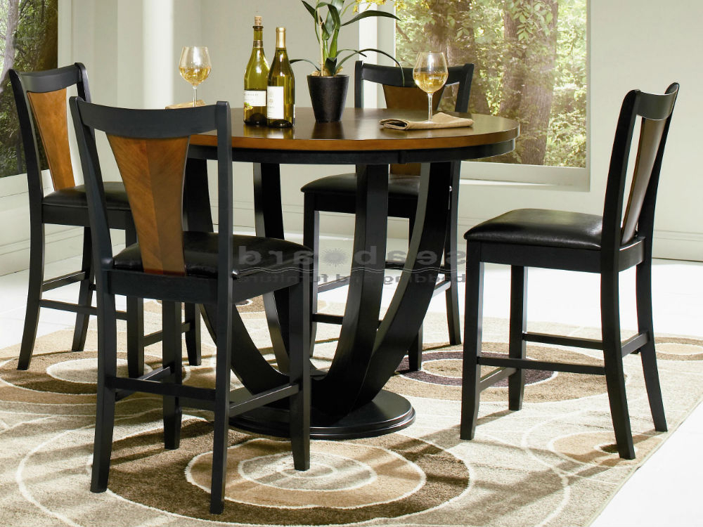 Dining Tables And Chairs Sets With Widely Used Boyer Two Tone Counter Height Dining Table Set (Gallery 4 of 20)