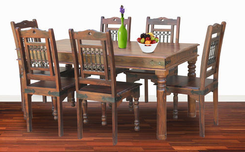 Dining Tables And Six Chairs In Most Recent Six Chairs Dining Table Sets – Six Chair Dining Table Set (View 5 of 20)