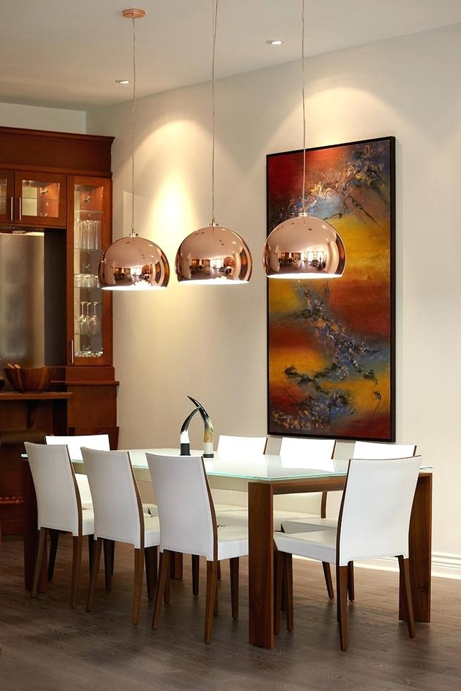 Dining Tables Ceiling Lights Regarding Most Current Extraordinary Idea Hanging Ceiling Lights For Dining Room Frosted (View 10 of 20)