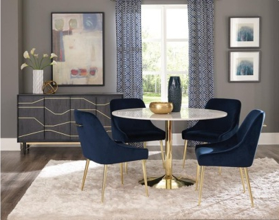 Dining Tables, Chairs, Servers – Hello Furniture In Most Recently Released Jaxon Grey 5 Piece Round Extension Dining Sets With Upholstered Chairs (Gallery 20 of 20)