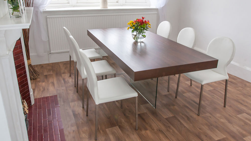 Dining Tables Dark Wood In Preferred Chunky Dark Wood Dining Table (View 8 of 20)