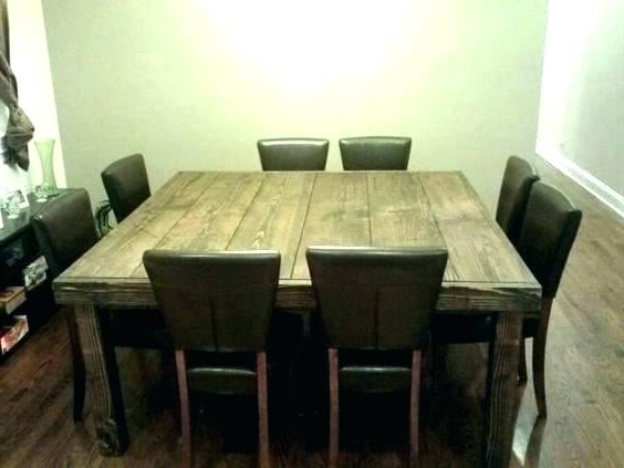 Dining Tables For 8 For Best And Newest Square Dining Table For 8 – Minnix (View 2 of 20)