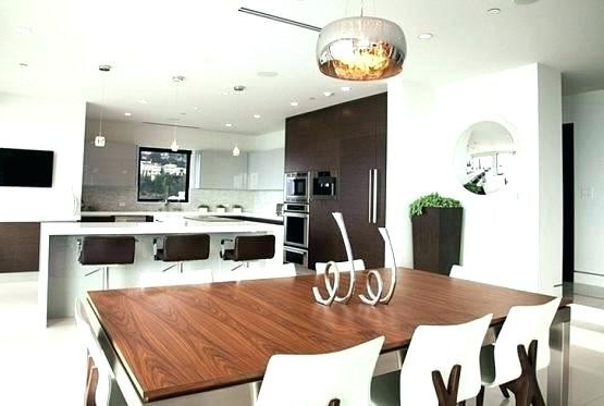 Dining Tables Lighting Within Trendy Beautiful Lighting Above Kitchen Table – Kitchen Ideas (Gallery 7 of 20)