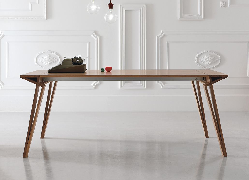 Dining Tables London Intended For Recent Alivar Oblique Extending Dining Table – Alivar Furniture At Go (View 6 of 20)