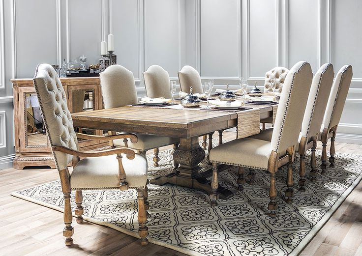 Dining Tables. Remarkable Living Spaces Dining Tables: Jaxon 5 Piece Within Trendy Jaxon 5 Piece Round Dining Sets With Upholstered Chairs (Gallery 18 of 20)