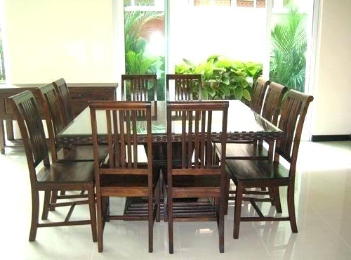 Dining Tables Seats 8 Square Table For Dimensions Room That Seat With Latest Dining Tables Seats  (View 5 of 20)