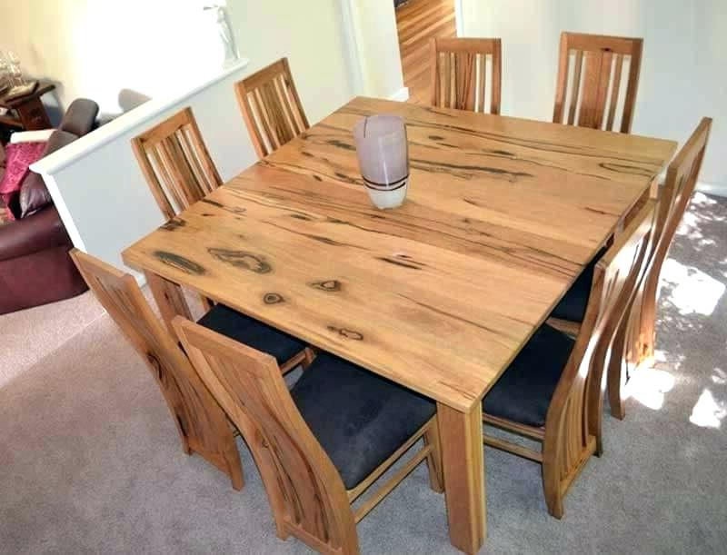 Dining Tables Seats 8 With 2017 Square Dining Tables Seats 8 Rectangle To Table Awesome Room Modern (View 12 of 20)