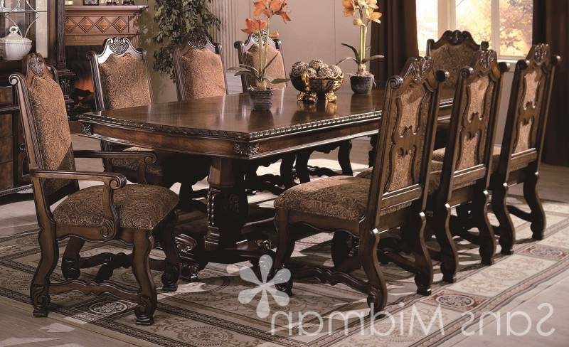 Dining Tables Set For 8 For Best And Newest Dinning Room (View 6 of 20)