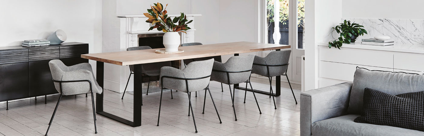 Dining Tables – Timber, Glass, Concrete & Aluminium – Globewest With Widely Used Perth Glass Dining Tables (View 3 of 20)