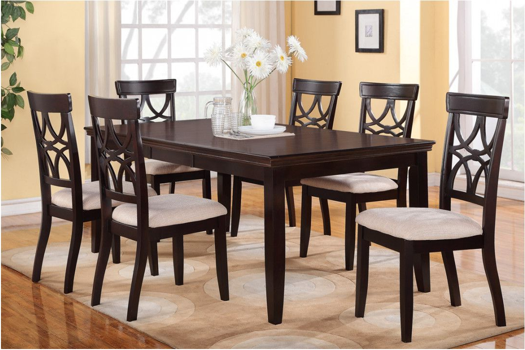 Dining Tables With 6 Chairs With Regard To Widely Used 6 Dining Room Table Chairs – Architecture Home Design • (View 2 of 20)