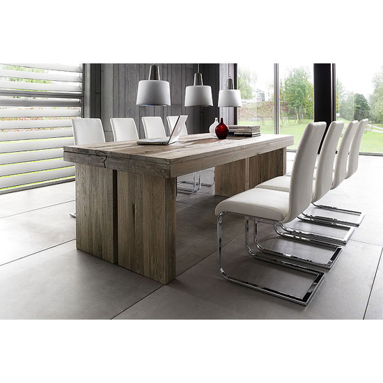 Dining Tables With 8 Seater With Regard To Widely Used Dublin 8 Seater Dining Table In 220cm With Lotte Dining (View 20 of 20)