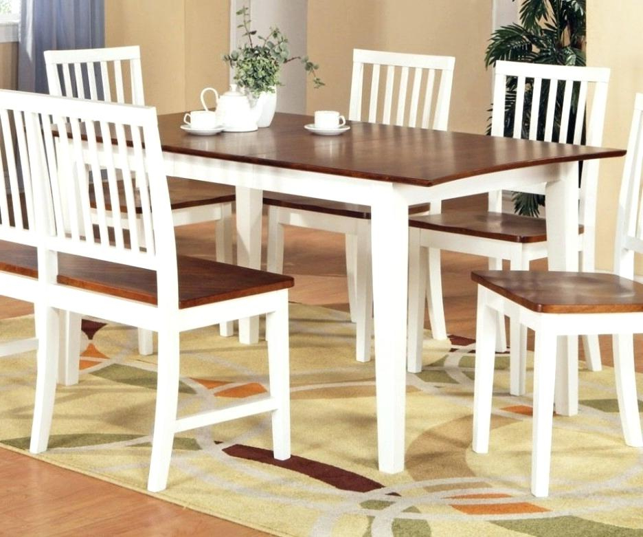 Dining Tables With White Legs And Wooden Top Regarding Widely Used Dining Table White Legs Wooden Top Dining Table White Legs Wooden (Gallery 5 of 20)