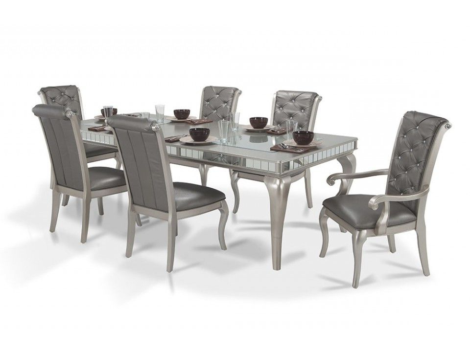 Diva 7 Piece Dining Set (View 9 of 20)