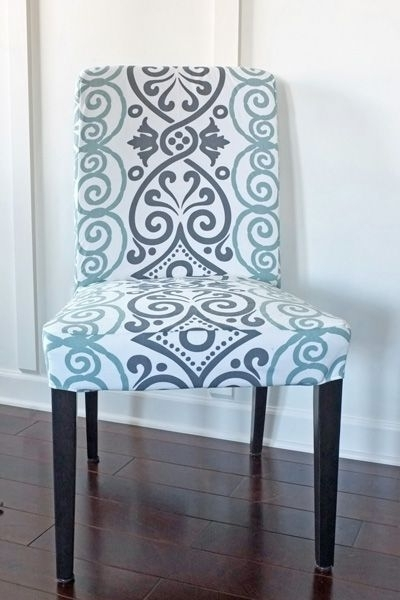 Diy Dining Chair Slipcovers From A Tablecloth (View 13 of 20)