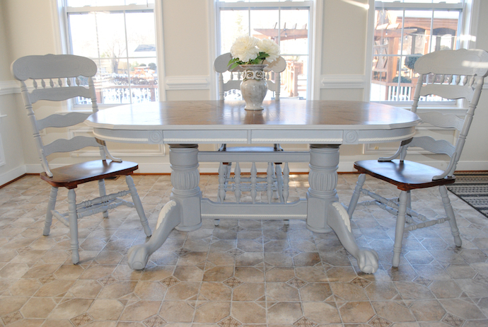 Diy French Country Dining Table Intended For Recent French Country Dining Tables (View 8 of 20)
