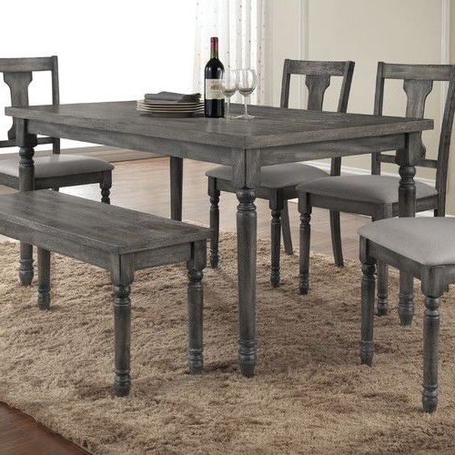 Door Entry In Palazzo 7 Piece Rectangle Dining Sets With Joss Side Chairs (View 8 of 20)