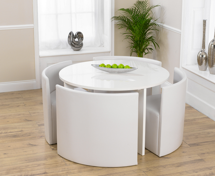 Dreamehome Within White Circular Dining Tables (View 4 of 20)