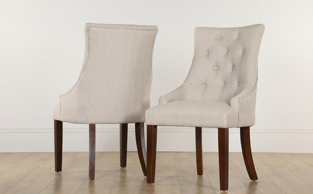 Featured Photo of Button Back Dining Chairs