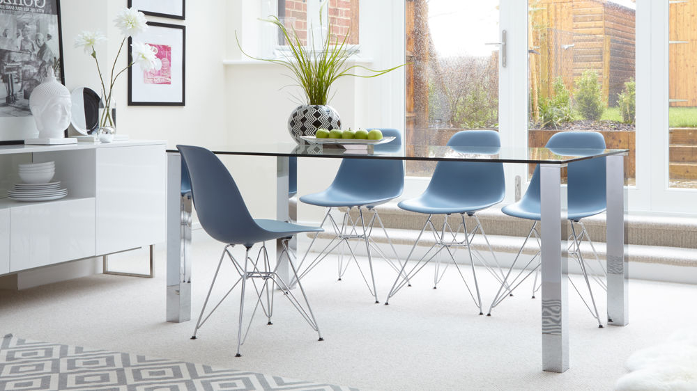 Eames Wire Frame Dining Set Uk (View 4 of 20)