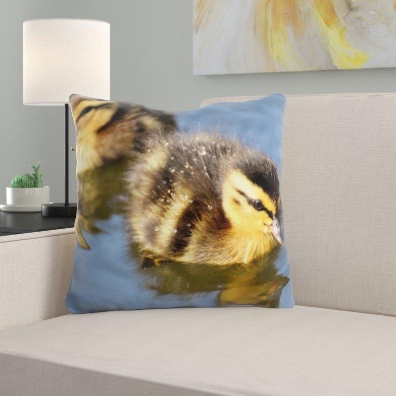 East Urban Home Mallard Throw Pillow (View 4 of 20)