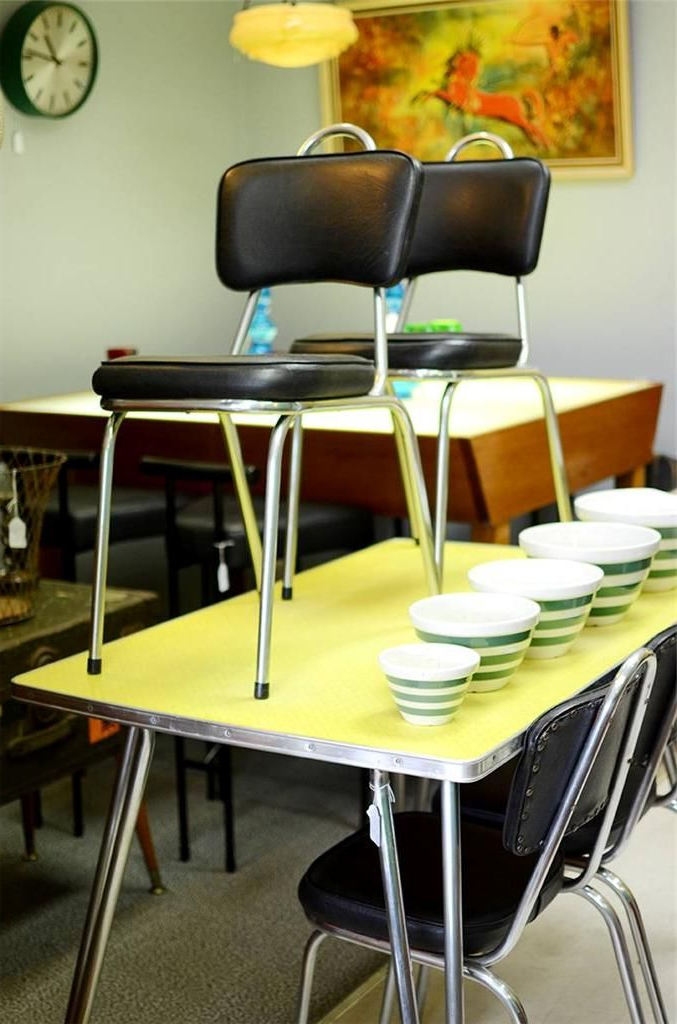Ebay Dining Suites For Recent Vintage Laminex Formica Dining Suite Retro Table Chairs 1950s 1960s (View 9 of 20)