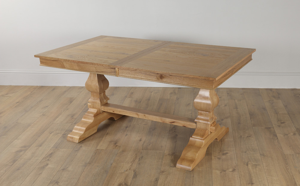 Ebay Pertaining To Well Known Extending Oak Dining Tables (View 9 of 20)