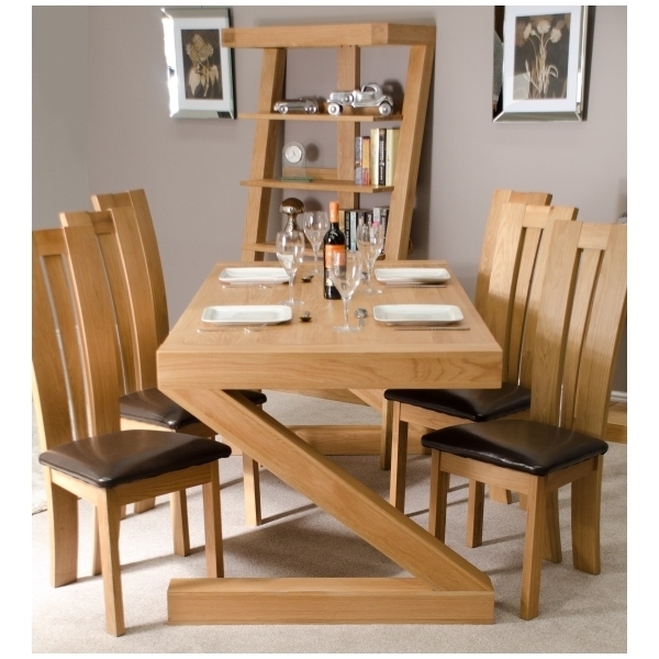 Ebay With Regard To Chunky Solid Oak Dining Tables And 6 Chairs (View 7 of 20)