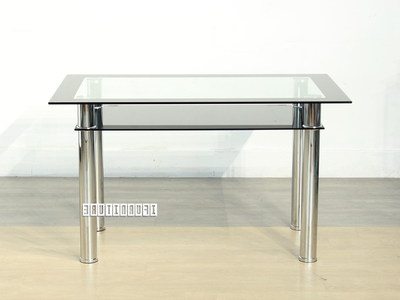 Edmonton Dining Tables Pertaining To Recent Studio Glass Dining Table Ifurniture The Largest Furniture Store In (View 15 of 20)