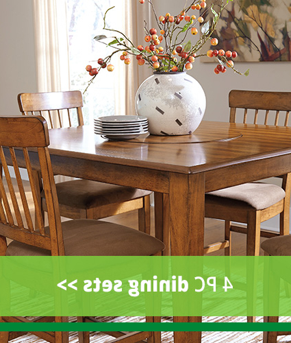 Elegant And Low Priced Dining Room Furniture At Our Hampton, Va Store With Regard To Newest Craftsman 5 Piece Round Dining Sets With Uph Side Chairs (View 9 of 20)