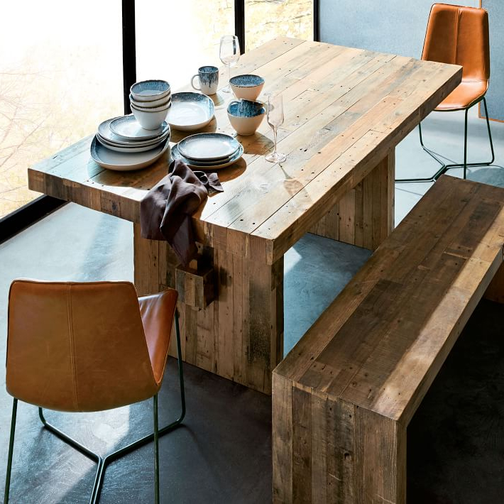 Emmerson® Reclaimed Wood Dining Table – Natural (Gallery 2 of 20)