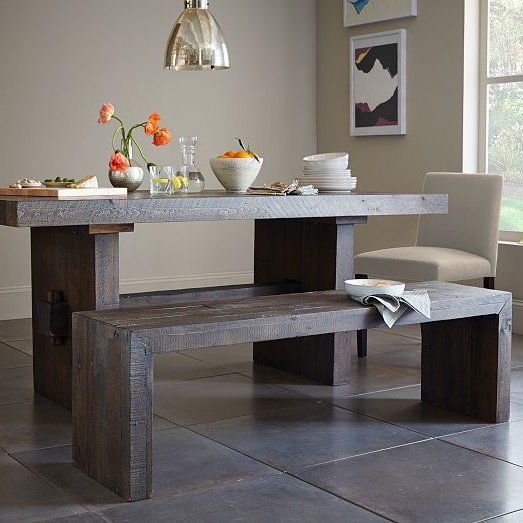 Emmerson® Reclaimed Wood Dining Table – Natural (Gallery 7 of 20)