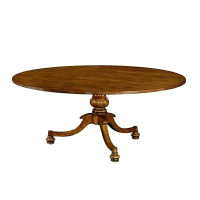 English Dining Table Superb Quality Oak Extending Seats 8 Antique Inside Latest Magnolia Home English Country Oval Dining Tables (View 7 of 20)
