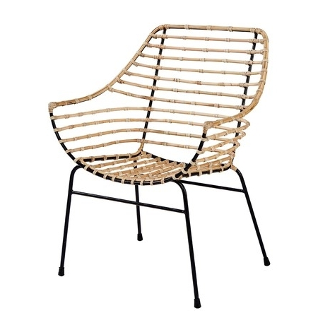 Entwine Rattan Armchair – Seating – Magnolia Home (Gallery 20 of 20)