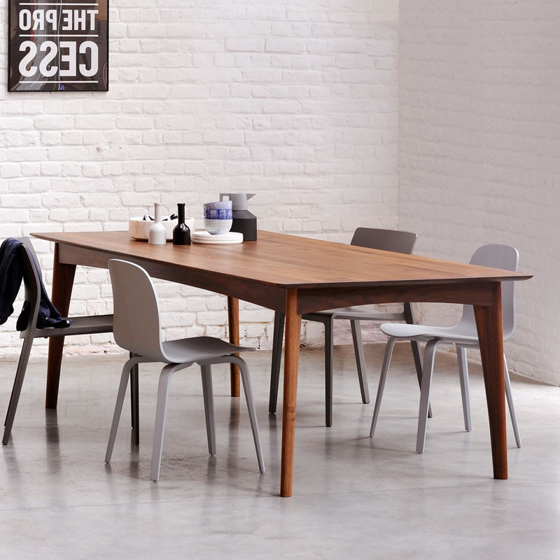 Ethnicraft Walnut Osso Dining Table (View 20 of 20)