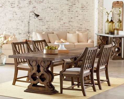 Ev Within Magnolia Home Sawbuck Dining Tables (View 4 of 20)