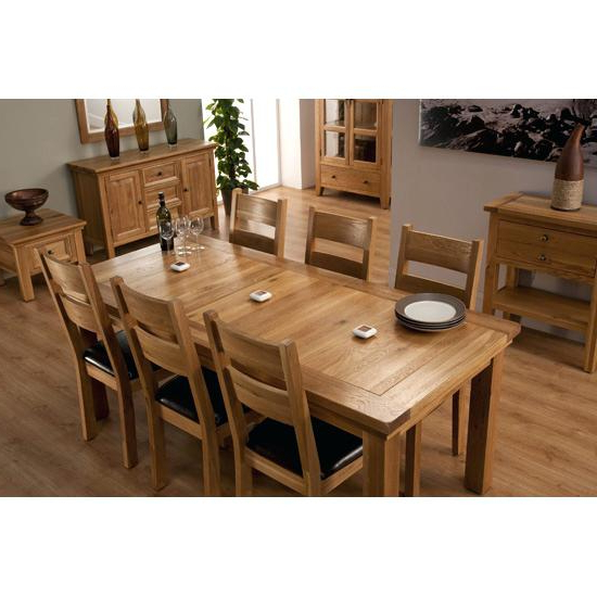Exotic 6 Chair Dining Table Solid Oak Dining Table With 6 Chairs 6 For Preferred Extending Dining Tables 6 Chairs (Gallery 14 of 20)