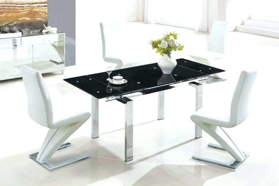 Expandable Glass Dining Table S Extendable Set Small And Chairs Inside 2017 Extendable Glass Dining Tables (View 4 of 20)