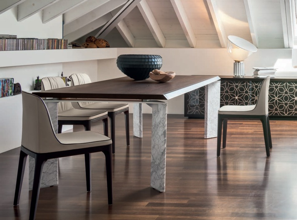Extendable Dining Table Romatonin Casa In Current Roma Dining Tables (View 6 of 20)