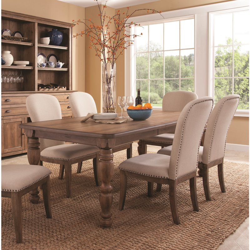 Extendable Dining Table Sets With Preferred Panama Jack South Mountain Farmhouse Extendable Dining Table Set (View 7 of 20)