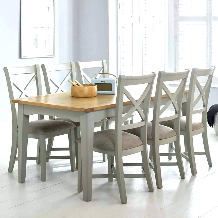 Extendable Dining Tables 6 Chairs With Regard To Popular Dining Tables With 6 Chairs – Bcrr (Gallery 16 of 20)