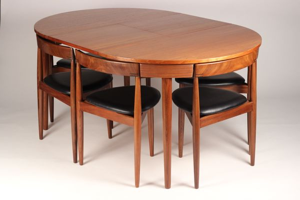 Extendable Dining Tables And 6 Chairs With Regard To Widely Used Extendable Dining Table With 6 Chairshans Olsen For Frem Røjle (View 11 of 20)