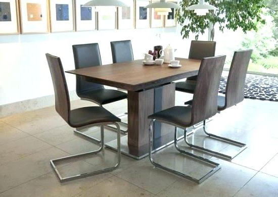 Extendable Dining Tables And 6 Chairs With Widely Used Dining Table 6 Chairs 6 Seater Extendable Dining Table And Chairs (View 13 of 20)