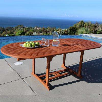 Extendable – Patio Dining Tables – Patio Tables – The Home Depot Within 2018 Outdoor Extendable Dining Tables (View 8 of 20)