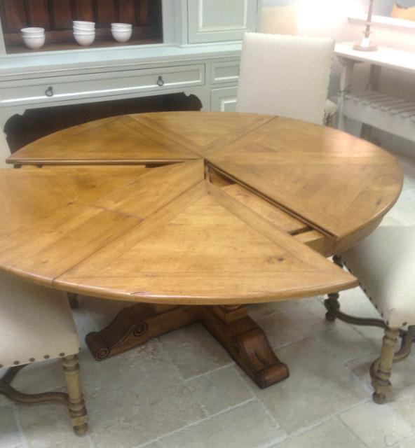Extendable Round Dining Table Attractive Expandable Round Dining For Preferred Round Dining Tables Extends To Oval (Gallery 7 of 20)