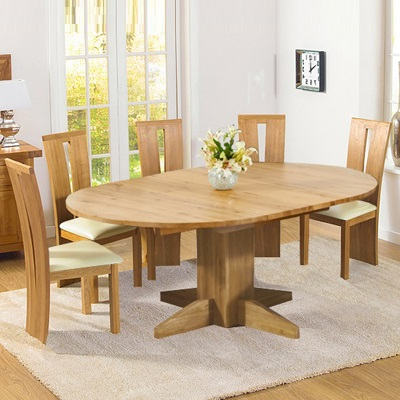 Extendable Round Dining Tables Sets Regarding Recent Round Extending Dining Table Sets Circular Extending Dining Table (View 6 of 20)